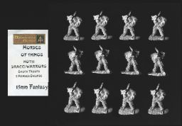 Alternative Armies 15mm Fantasy HOT52 Dracci Shock Troops (Dragonmen) (x 12)